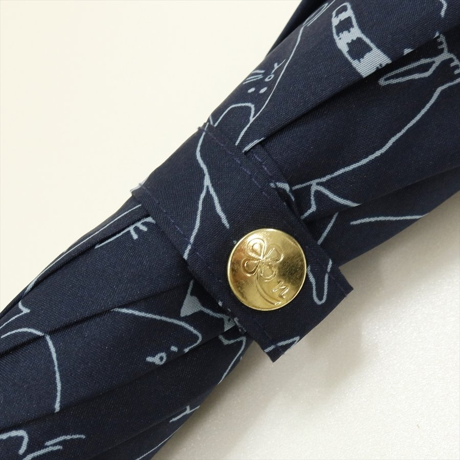 傘 雨傘 レディース 長傘 晴雨兼用 ジャンプ 猫 ネコ ニフティカラーズ|niftycolors|07