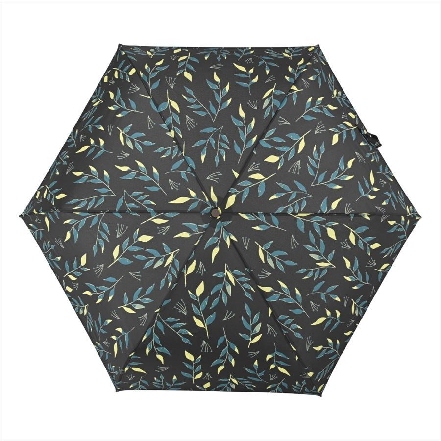 傘 雨傘 レディース 折りたたみ傘 晴雨兼用 リーフ ナチュラル ボタニカル ニフティカラーズ|niftycolors|12