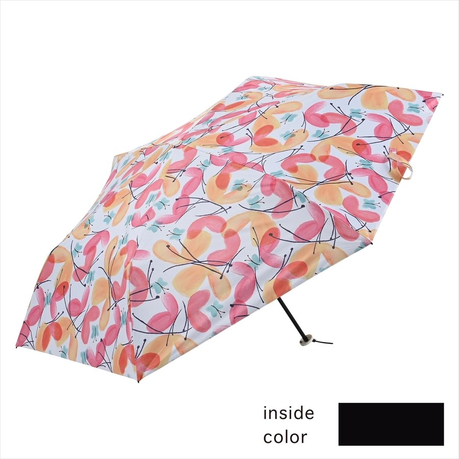 傘 雨傘 レディース 折りたたみ傘 軽量 大きめ 全天候 晴雨兼用 バタフライ ニフティカラーズ niftycolors 02