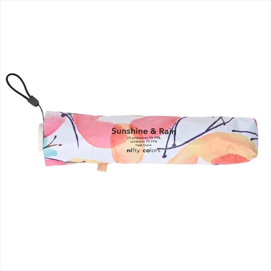 傘 雨傘 レディース 折りたたみ傘 軽量 大きめ 全天候 晴雨兼用 バタフライ ニフティカラーズ niftycolors 03
