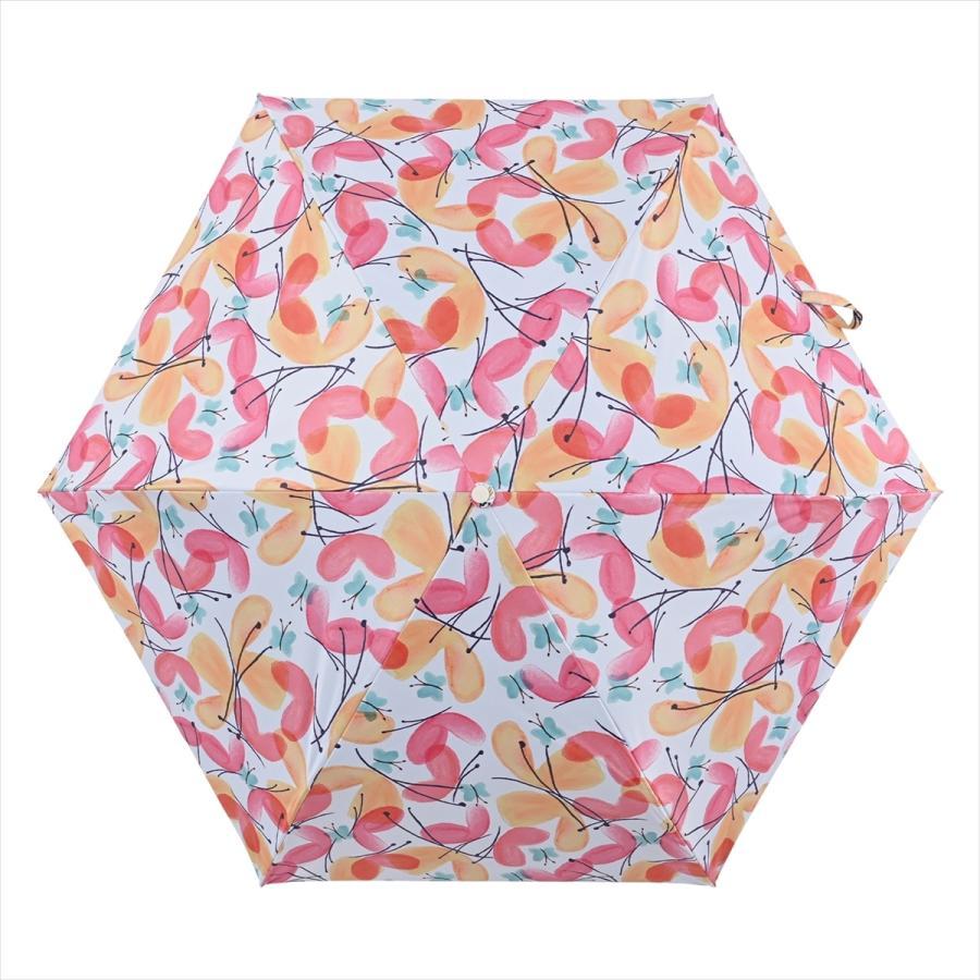 傘 雨傘 レディース 折りたたみ傘 軽量 大きめ 全天候 晴雨兼用 バタフライ ニフティカラーズ niftycolors 11