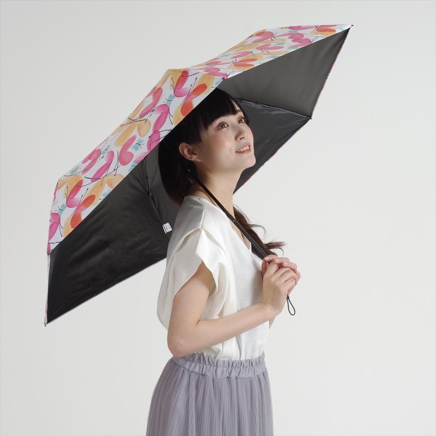傘 雨傘 レディース 折りたたみ傘 軽量 大きめ 全天候 晴雨兼用 バタフライ ニフティカラーズ niftycolors 08