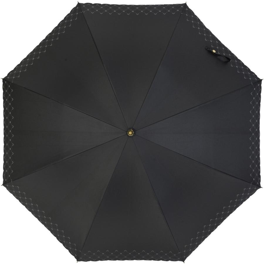 【公式】 日傘  遮光 レース 晴雨兼用 レディース 長傘 遮熱 PU加工 裏面カラー 99.9%カット ニフティカラーズ|niftycolors|02