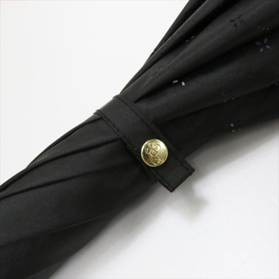 【公式】 日傘  遮光 レース 晴雨兼用 レディース 長傘 遮熱 PU加工 裏面カラー 99.9%カット ニフティカラーズ|niftycolors|07