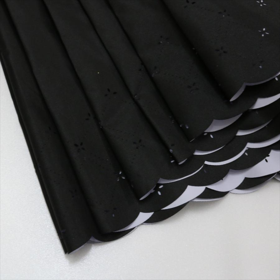 【公式】 日傘  遮光 レース 晴雨兼用 レディース 長傘 遮熱 PU加工 裏面カラー 99.9%カット ニフティカラーズ|niftycolors|09
