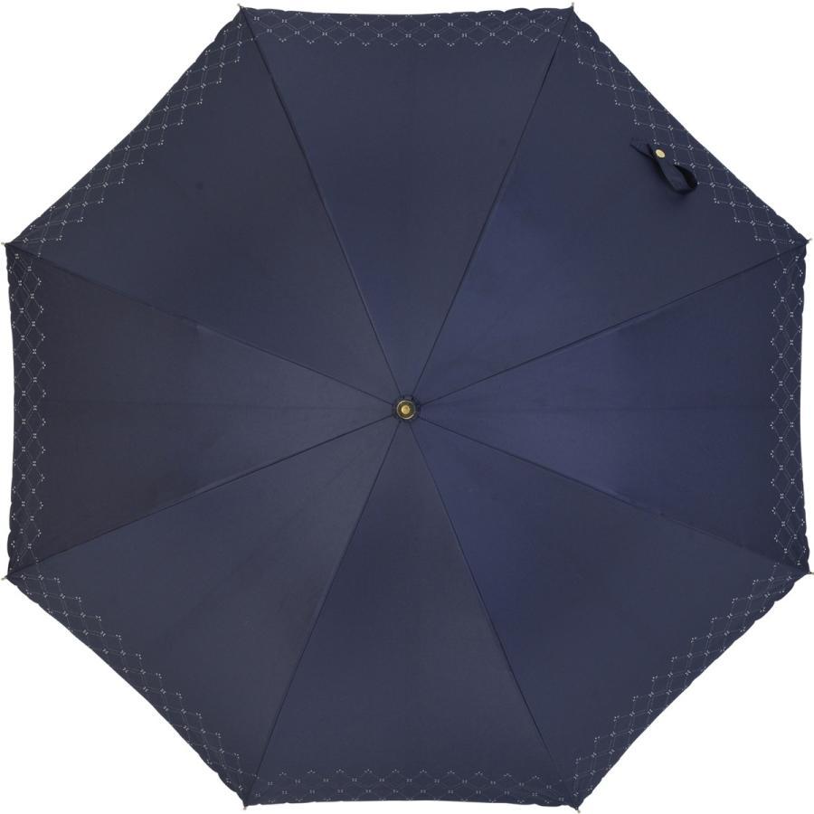 【公式】 日傘  遮光 レース 晴雨兼用 レディース 長傘 遮熱 PU加工 裏面カラー 99.9%カット ニフティカラーズ|niftycolors|03