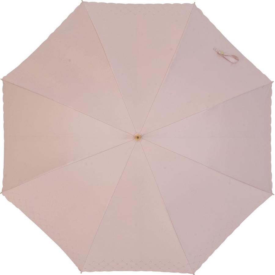 【公式】 日傘  遮光 レース 晴雨兼用 レディース 長傘 遮熱 PU加工 裏面カラー 99.9%カット ニフティカラーズ|niftycolors|04