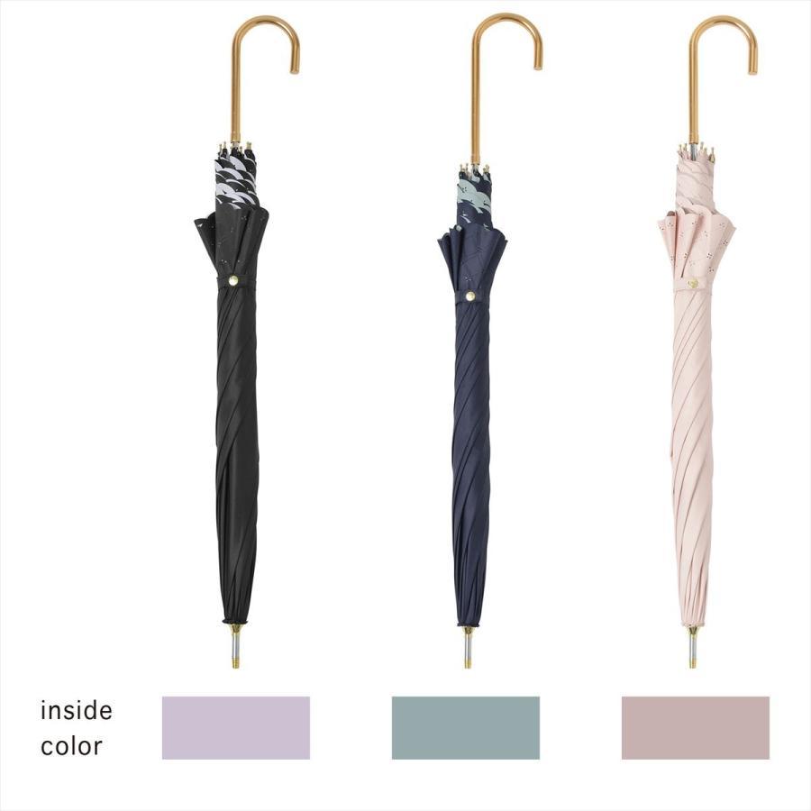 【公式】 日傘  遮光 レース 晴雨兼用 レディース 長傘 遮熱 PU加工 裏面カラー 99.9%カット ニフティカラーズ|niftycolors|05