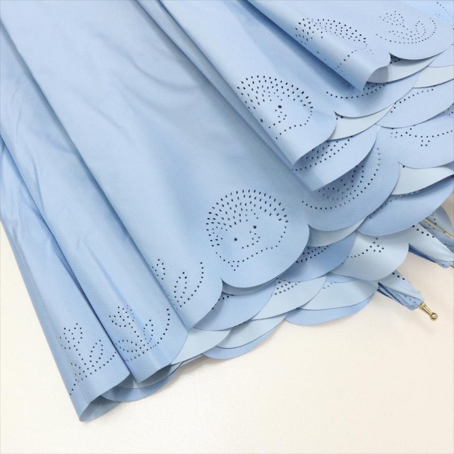 【公式】 日傘 遮光 はりねずみ 晴雨兼用 レディース 長傘 遮熱 PU加工 裏面カラー 99.9%カット ニフティカラーズ niftycolors 09