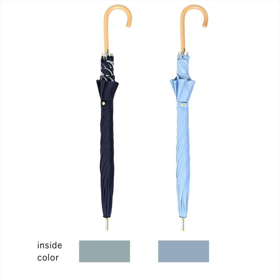 【公式】 日傘 遮光 はりねずみ 晴雨兼用 レディース 長傘 遮熱 PU加工 裏面カラー 99.9%カット ニフティカラーズ niftycolors 05