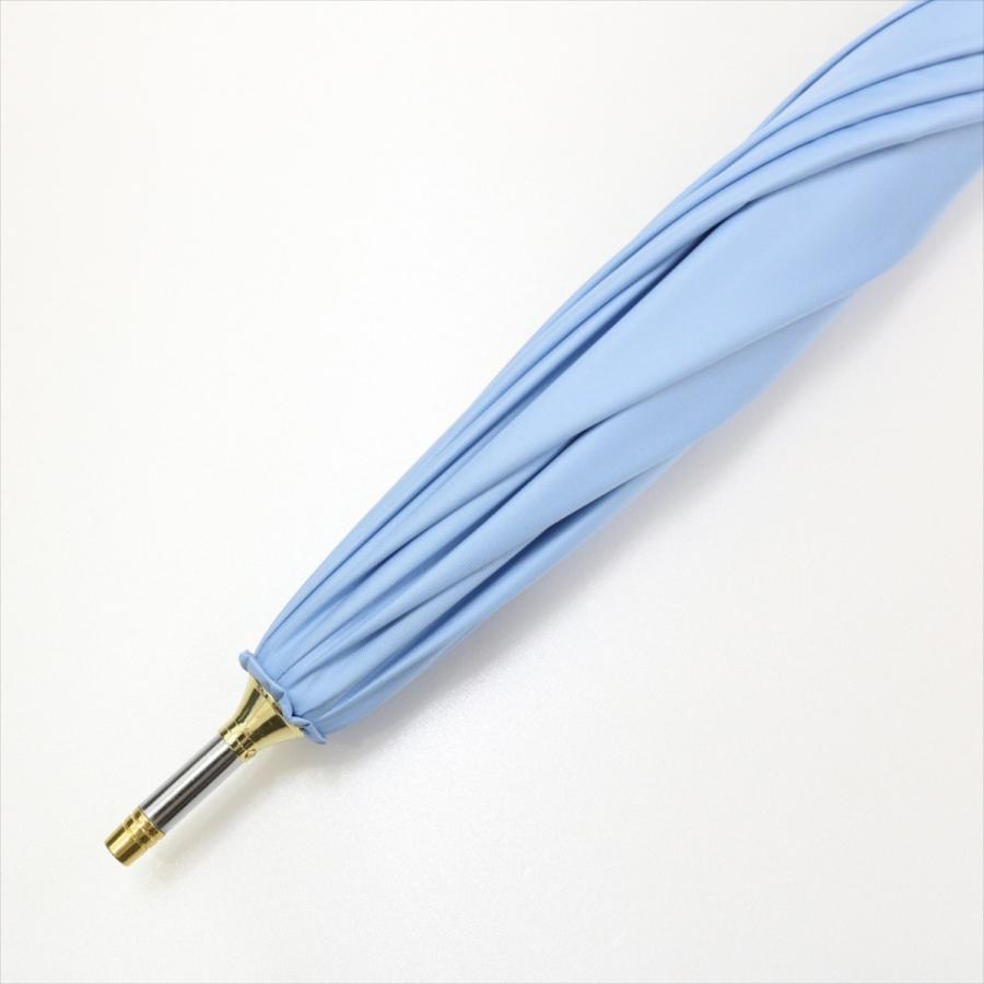 【公式】 日傘 遮光 はりねずみ 晴雨兼用 レディース 長傘 遮熱 PU加工 裏面カラー 99.9%カット ニフティカラーズ niftycolors 06