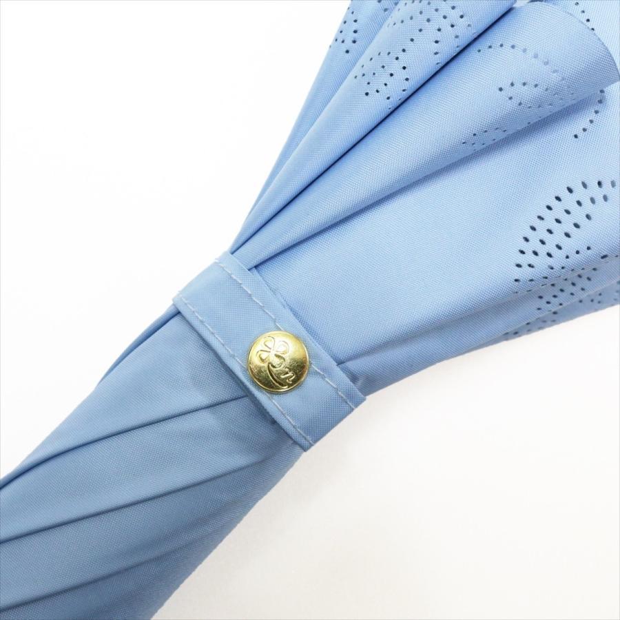 【公式】 日傘 遮光 はりねずみ 晴雨兼用 レディース 長傘 遮熱 PU加工 裏面カラー 99.9%カット ニフティカラーズ niftycolors 07