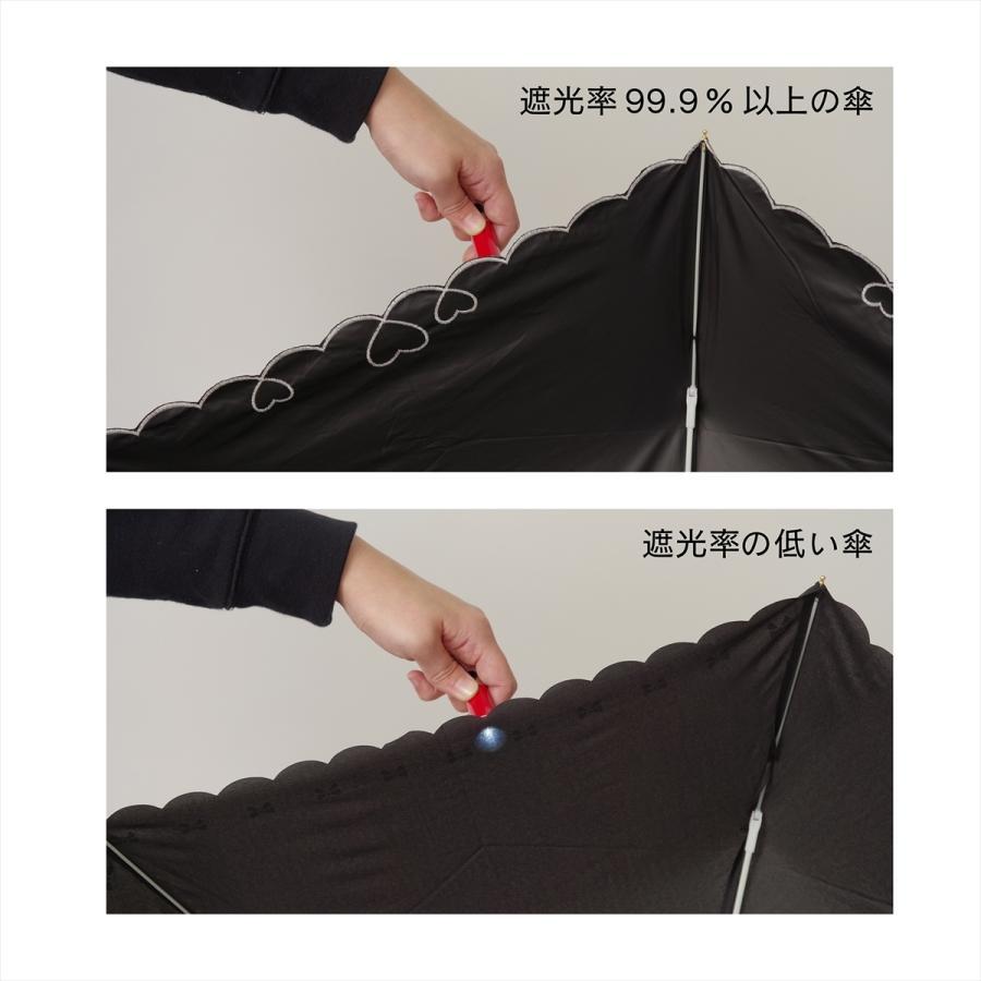 【公式】 日傘  遮光 セーラーボーダー  晴雨兼用  長傘 55cm 大きめ 遮熱 PU加工 99.9%カット ニフティカラーズ|niftycolors|09