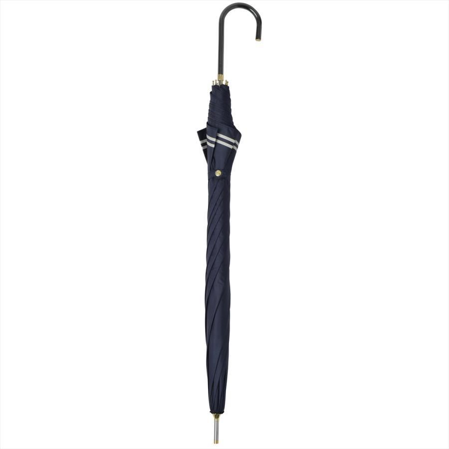 【公式】 日傘  遮光 セーラーボーダー  晴雨兼用  長傘 55cm 大きめ 遮熱 PU加工 99.9%カット ニフティカラーズ|niftycolors|04