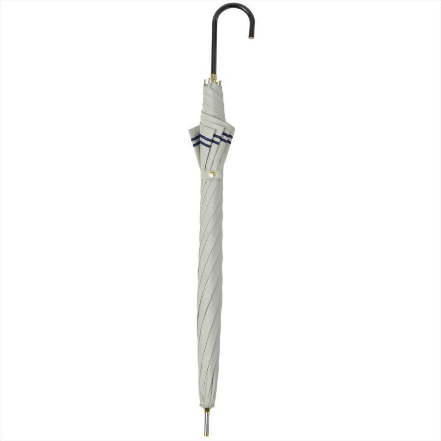 【公式】 日傘  遮光 セーラーボーダー  晴雨兼用  長傘 55cm 大きめ 遮熱 PU加工 99.9%カット ニフティカラーズ|niftycolors|15