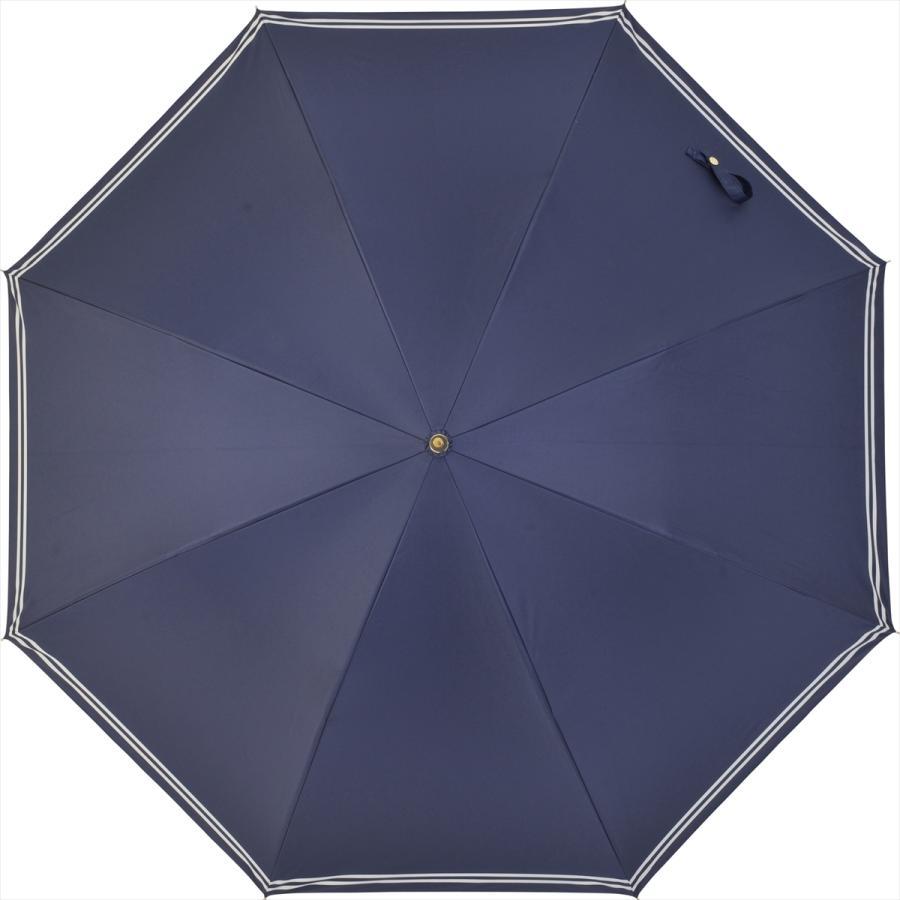 【公式】 日傘  遮光 セーラーボーダー  晴雨兼用  長傘 55cm 大きめ 遮熱 PU加工 99.9%カット ニフティカラーズ|niftycolors|16