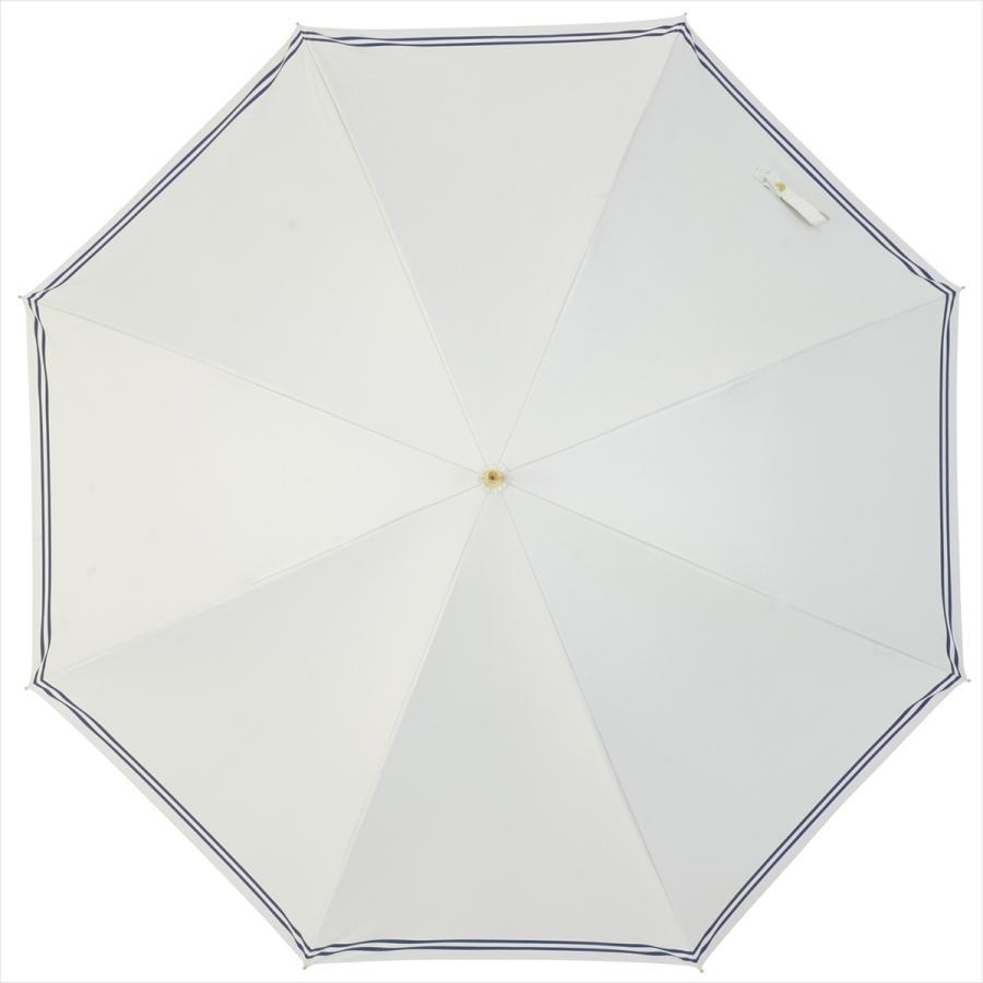 【公式】 日傘  遮光 セーラーボーダー  晴雨兼用  長傘 55cm 大きめ 遮熱 PU加工 99.9%カット ニフティカラーズ|niftycolors|17