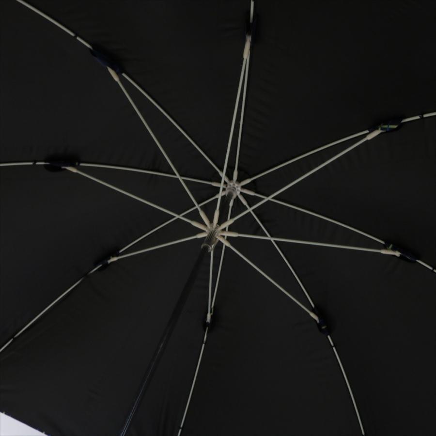 【公式】  日傘 遮光 チェック 晴雨兼用 レディース 長傘 55cm 大きめ 遮熱 PU加工 99.9%カット ニフティカラーズ|niftycolors|09