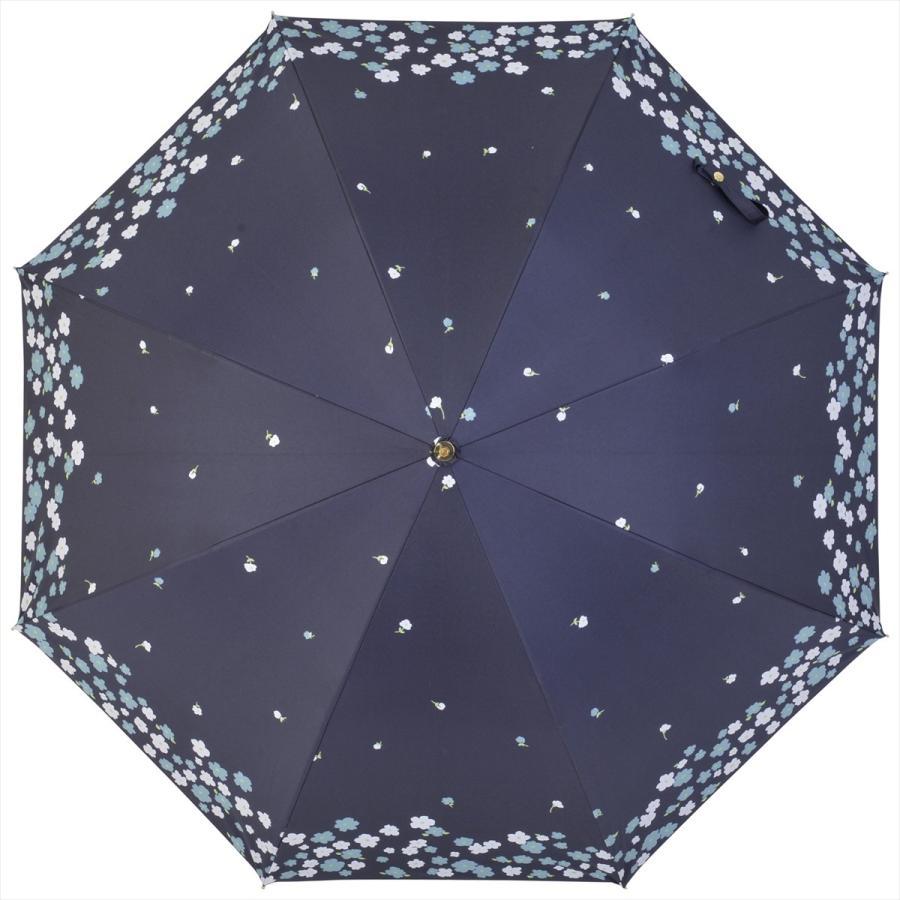 【公式】  日傘 遮光 フラワー ガーデン 花柄 晴雨兼用  長傘 遮熱 PU加工 99.9%カット ニフティカラーズ|niftycolors|02