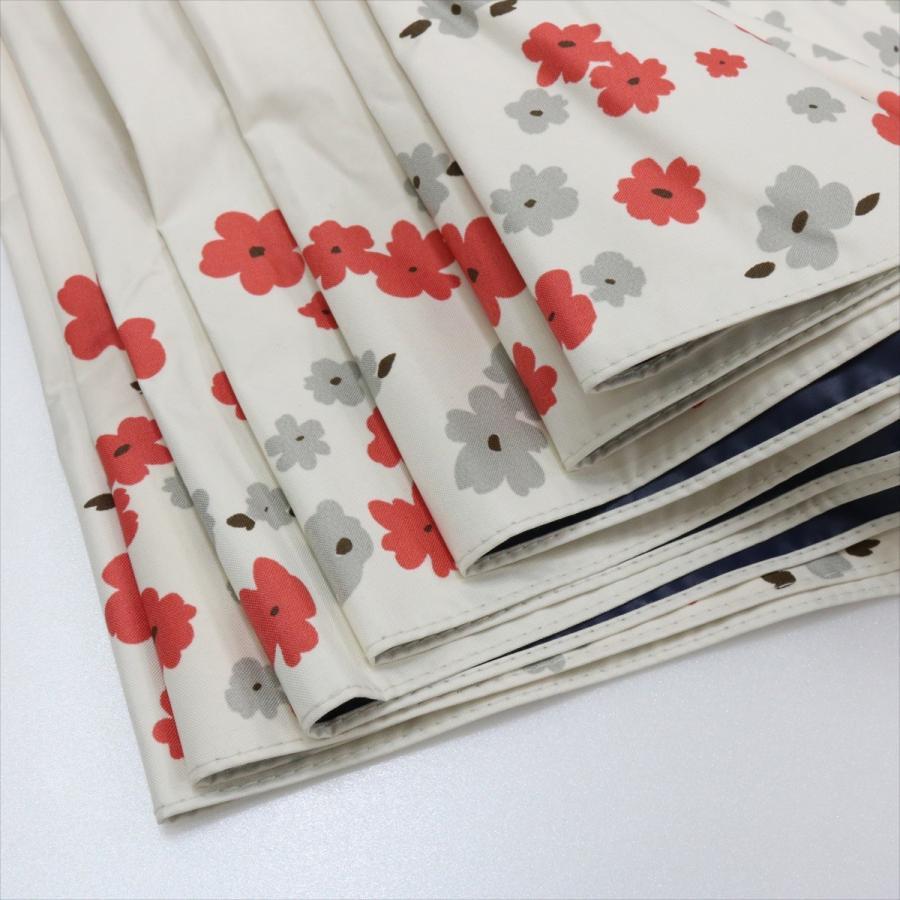 【公式】  日傘 遮光 フラワー ガーデン 花柄 晴雨兼用  長傘 遮熱 PU加工 99.9%カット ニフティカラーズ|niftycolors|08
