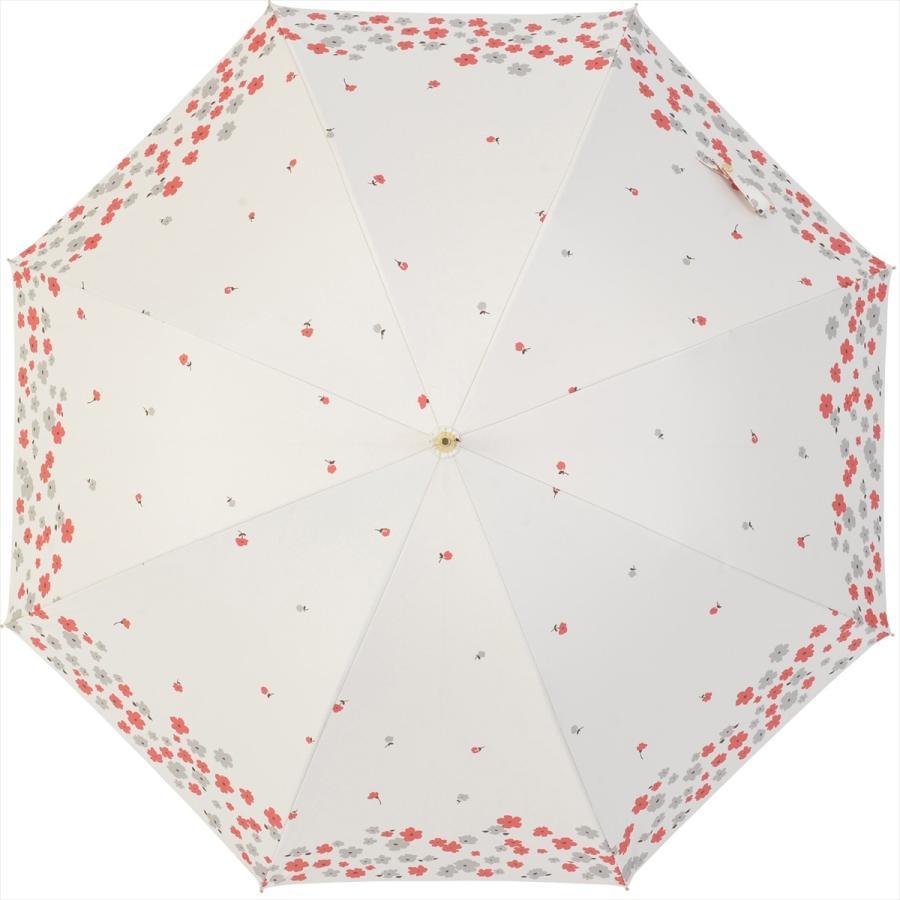 【公式】  日傘 遮光 フラワー ガーデン 花柄 晴雨兼用  長傘 遮熱 PU加工 99.9%カット ニフティカラーズ|niftycolors|03