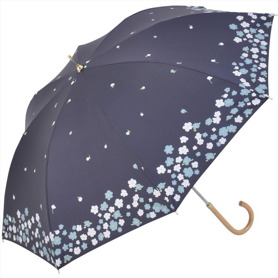 【公式】  日傘 遮光 フラワー ガーデン 花柄 晴雨兼用  長傘 遮熱 PU加工 99.9%カット ニフティカラーズ|niftycolors|16