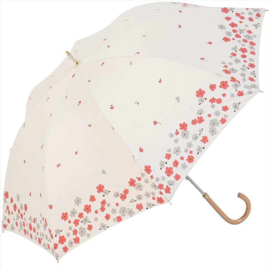 【公式】  日傘 遮光 フラワー ガーデン 花柄 晴雨兼用  長傘 遮熱 PU加工 99.9%カット ニフティカラーズ|niftycolors|17