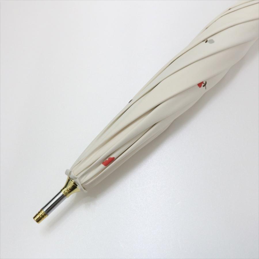 【公式】  日傘 遮光 フラワー ガーデン 花柄 晴雨兼用  長傘 遮熱 PU加工 99.9%カット ニフティカラーズ|niftycolors|05