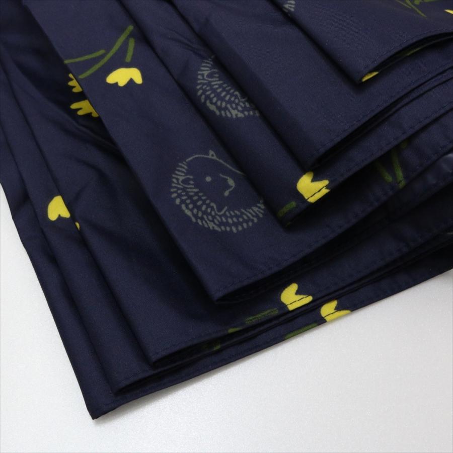【公式】  日傘  遮光 はりねずみ 花柄 晴雨兼用  長傘 遮熱 PU加工 99.9%カット ニフティカラーズ niftycolors 08