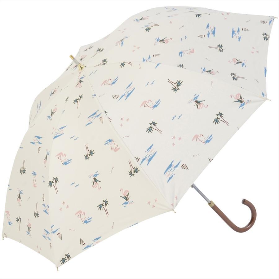 【公式】  日傘  遮光 フラミンゴ 南国 晴雨兼用 レディース 長傘 遮熱 PU加工 99.9%カット ニフティカラーズ|niftycolors|17