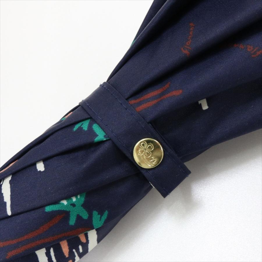 【公式】  日傘  遮光 フラミンゴ 南国 晴雨兼用 レディース 長傘 遮熱 PU加工 99.9%カット ニフティカラーズ|niftycolors|05