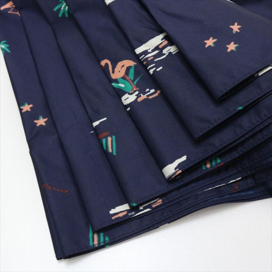 【公式】  日傘  遮光 フラミンゴ 南国 晴雨兼用 レディース 長傘 遮熱 PU加工 99.9%カット ニフティカラーズ|niftycolors|07