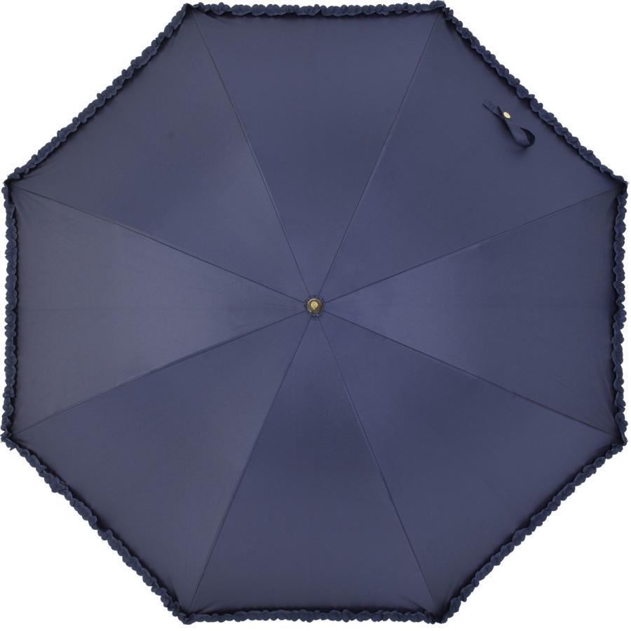 【公式】   日傘  遮光 フリル カジュアル 晴雨兼用 レディース 長傘 遮熱 PU加工 99.9%カット ニフティカラーズ|niftycolors|03