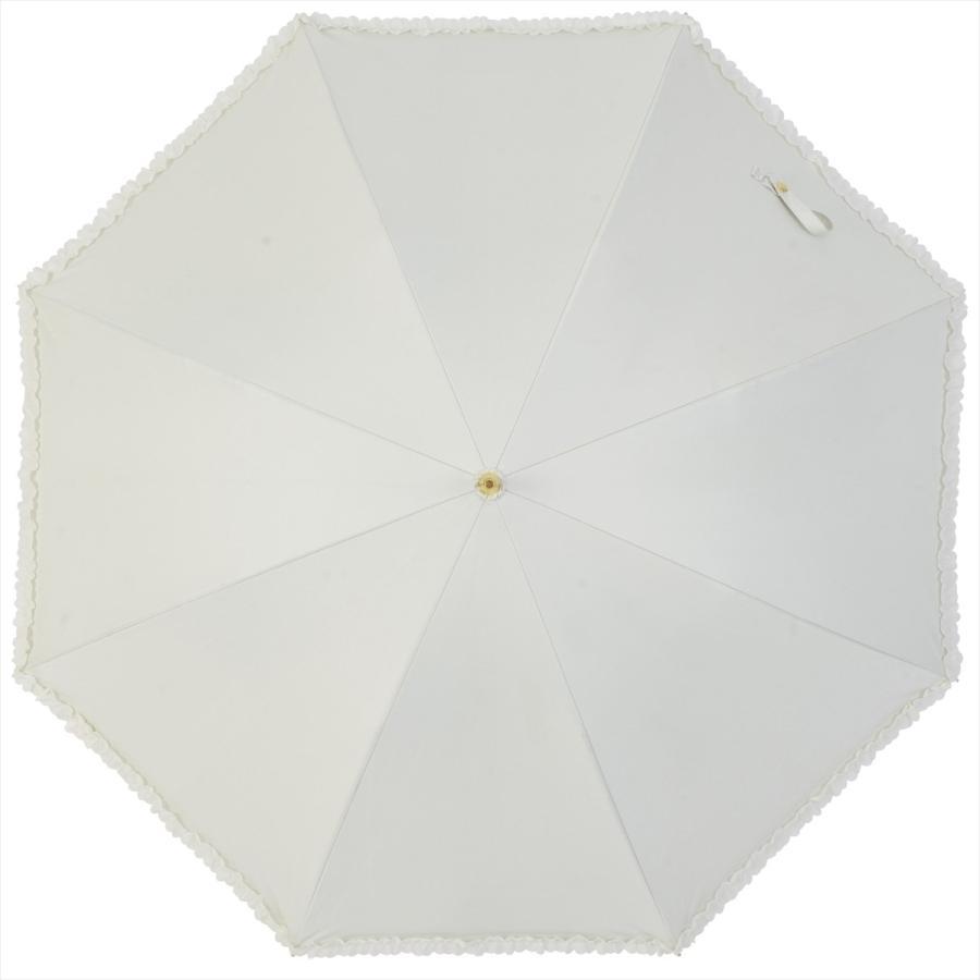 【公式】   日傘  遮光 フリル カジュアル 晴雨兼用 レディース 長傘 遮熱 PU加工 99.9%カット ニフティカラーズ|niftycolors|04