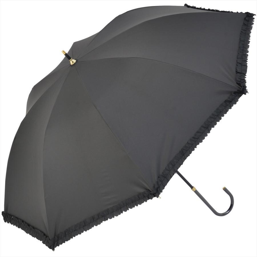 【公式】   日傘  遮光 フリル カジュアル 晴雨兼用 レディース 長傘 遮熱 PU加工 99.9%カット ニフティカラーズ|niftycolors|17