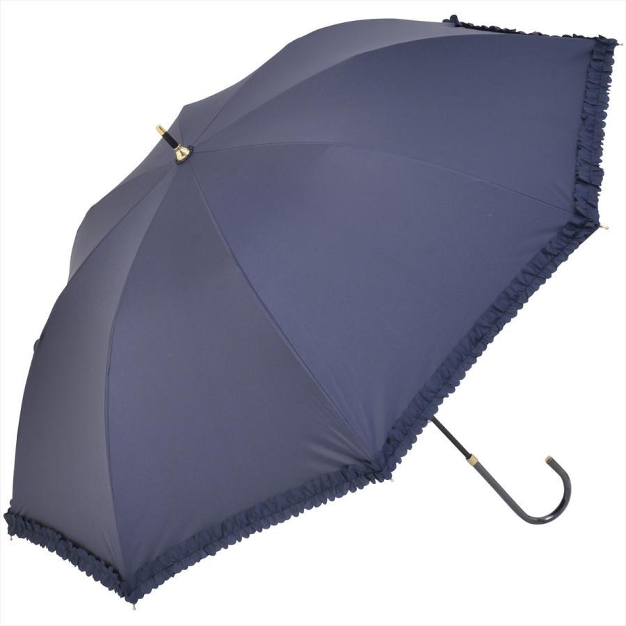 【公式】   日傘  遮光 フリル カジュアル 晴雨兼用 レディース 長傘 遮熱 PU加工 99.9%カット ニフティカラーズ|niftycolors|18