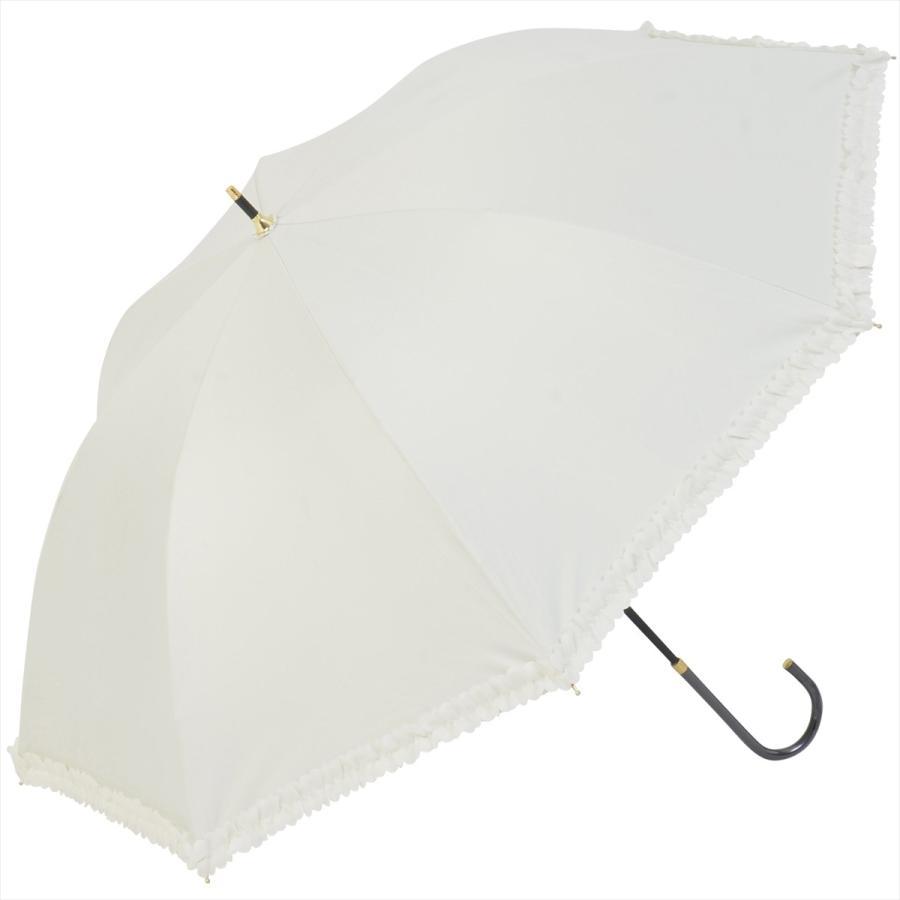 【公式】   日傘  遮光 フリル カジュアル 晴雨兼用 レディース 長傘 遮熱 PU加工 99.9%カット ニフティカラーズ|niftycolors|19
