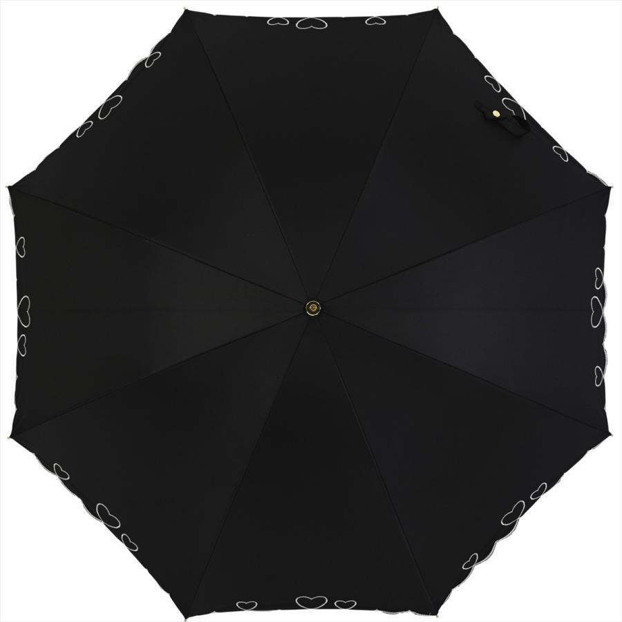 【公式】 日傘  遮光 ハート スカラ 晴雨兼用  長傘 遮熱 PU加工 99.9%カット  ニフティカラーズ|niftycolors|02