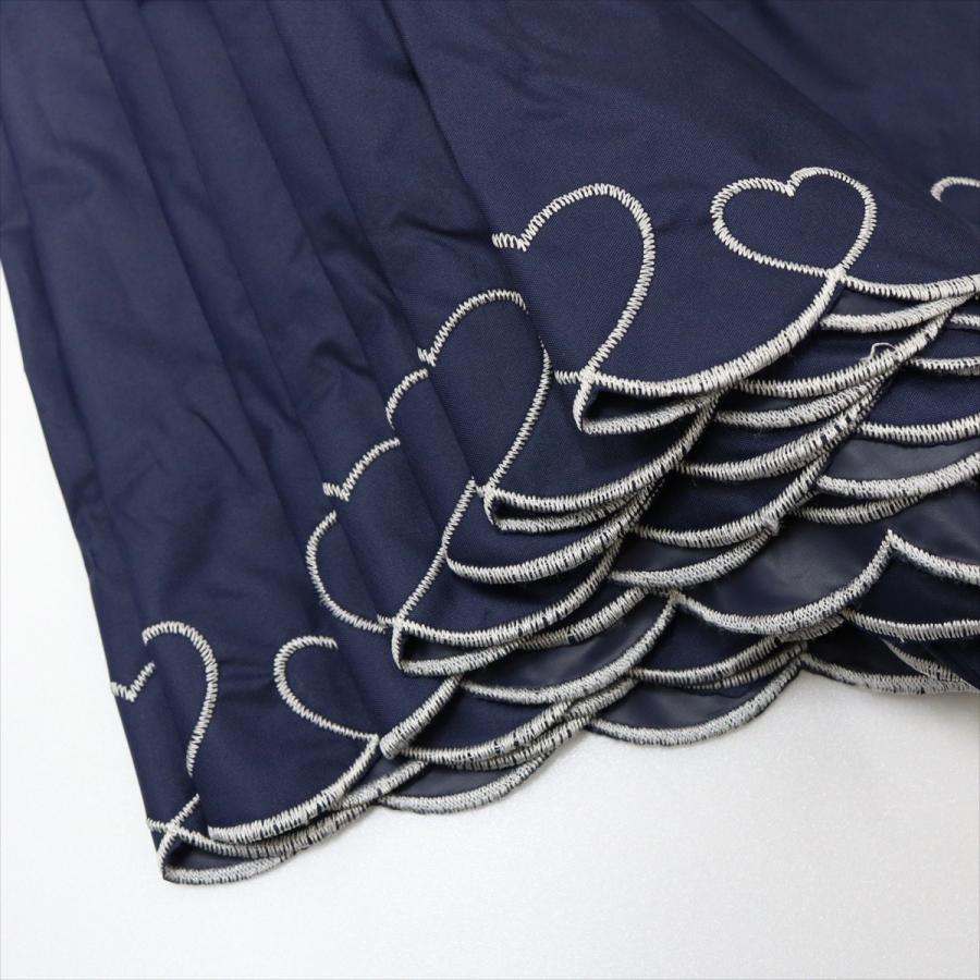 【公式】 日傘  遮光 ハート スカラ 晴雨兼用  長傘 遮熱 PU加工 99.9%カット  ニフティカラーズ|niftycolors|09