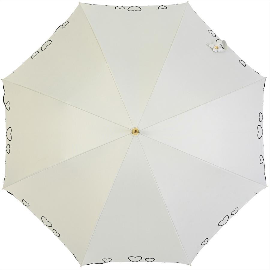 【公式】 日傘  遮光 ハート スカラ 晴雨兼用  長傘 遮熱 PU加工 99.9%カット  ニフティカラーズ|niftycolors|04