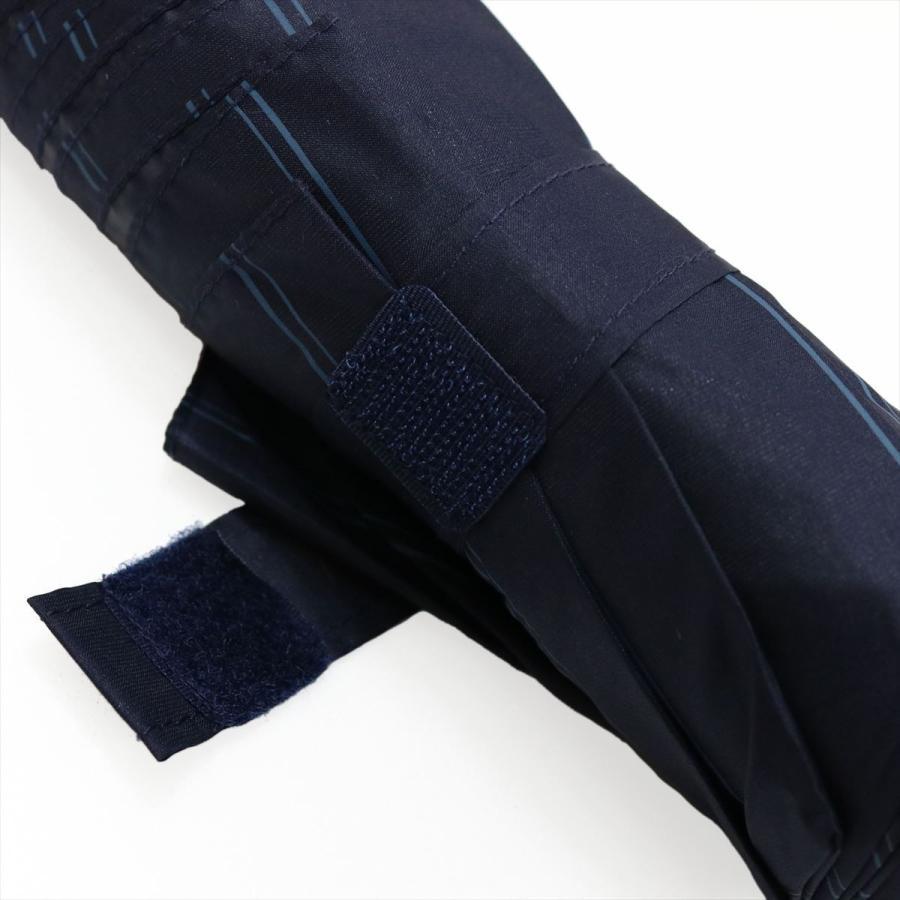 【公式】 ユニセックス 紳士 婦人 雨傘 折傘 自動開閉 オートマチック UV ストライプ  niftycolors ニフティカラーズ niftycolors 08