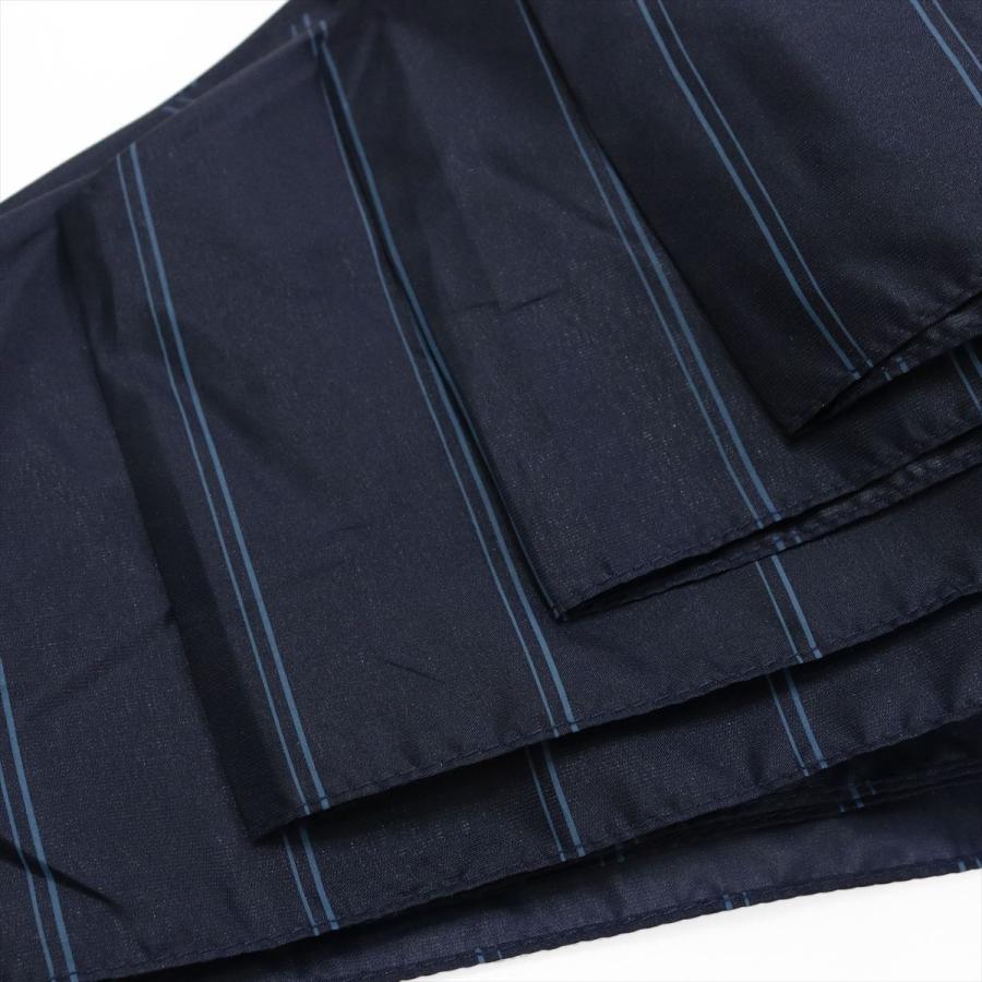 【公式】 ユニセックス 紳士 婦人 雨傘 折傘 自動開閉 オートマチック UV ストライプ  niftycolors ニフティカラーズ niftycolors 09