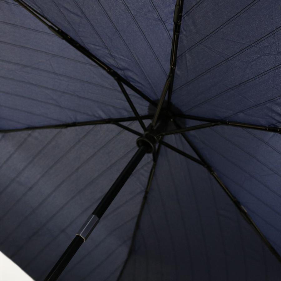 【公式】 ユニセックス 紳士 婦人 雨傘 折傘 自動開閉 オートマチック UV ストライプ  niftycolors ニフティカラーズ niftycolors 10