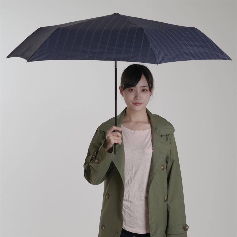 【公式】 ユニセックス 紳士 婦人 雨傘 折傘 自動開閉 オートマチック UV ストライプ  niftycolors ニフティカラーズ niftycolors 11