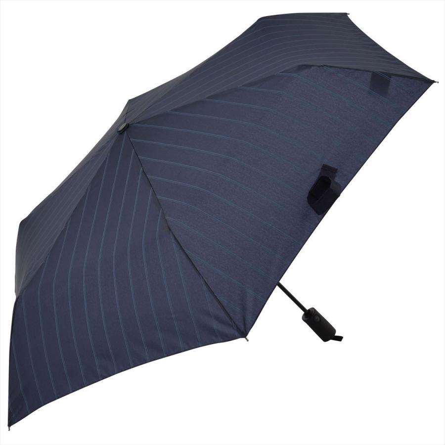 【公式】 ユニセックス 紳士 婦人 雨傘 折傘 自動開閉 オートマチック UV ストライプ  niftycolors ニフティカラーズ niftycolors 14