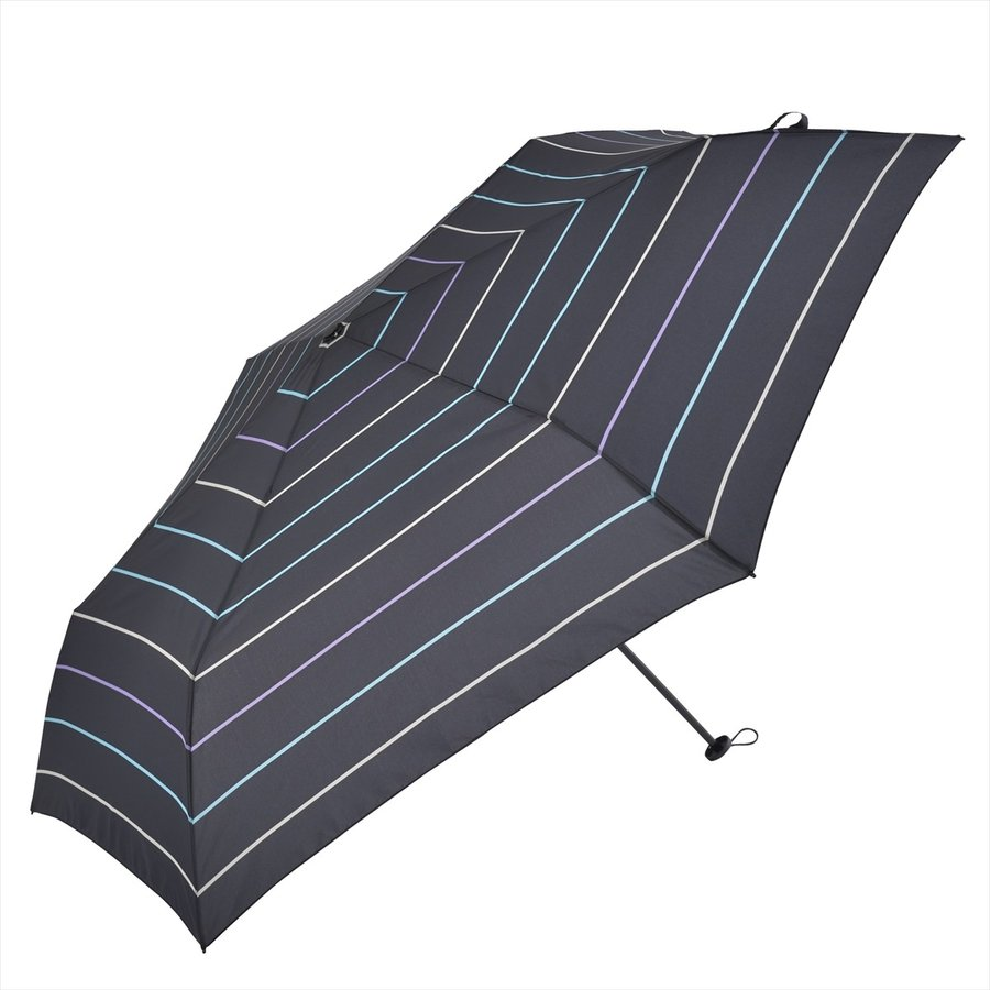 【公式】 ユニセックス レディース メンズ 晴雨兼用 雨傘 折傘 折り畳み 傘 軽い UV 紫外線防止 無地 大きめ 大判 人気 ボーダー niftycolors 16