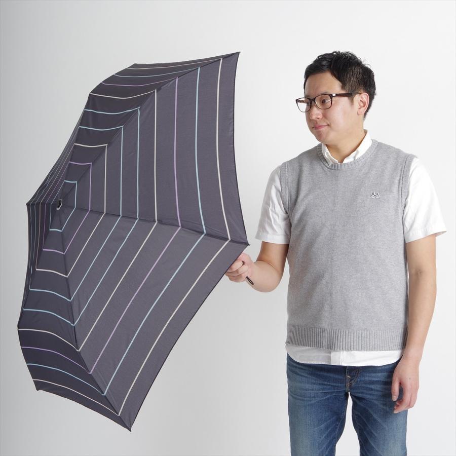 【公式】 ユニセックス レディース メンズ 晴雨兼用 雨傘 折傘 折り畳み 傘 軽い UV 紫外線防止 無地 大きめ 大判 人気 ボーダー niftycolors 13