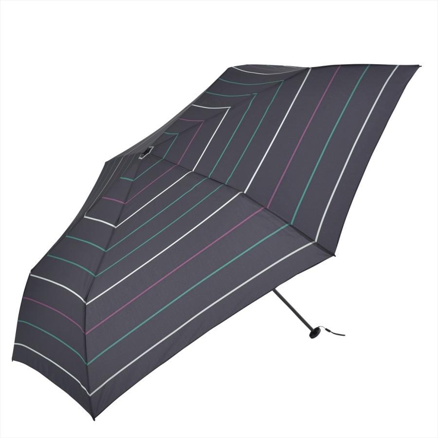 【公式】 ユニセックス レディース メンズ 晴雨兼用 雨傘 折傘 折り畳み 傘 軽い UV 紫外線防止 無地 大きめ 大判 人気 ボーダー niftycolors 17