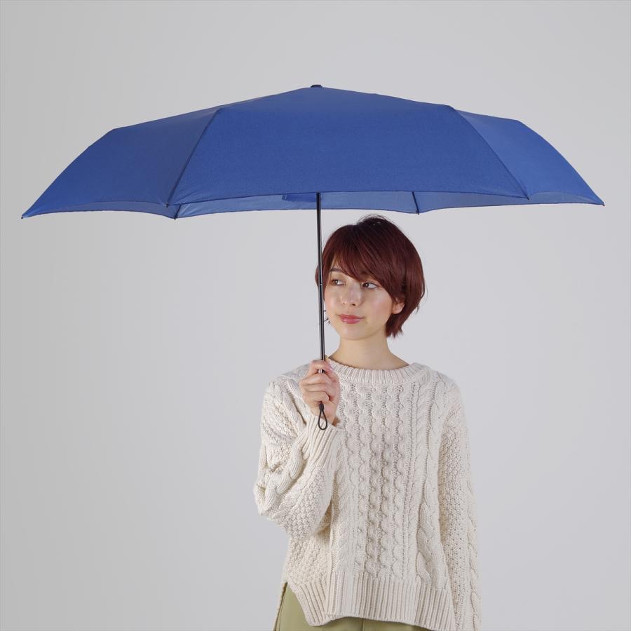 【公式】 ユニセックス レディース メンズ 晴雨兼用 雨傘 折傘 傘 軽い 軽量 UV 紫外線防止 無地 大きめ 大判 人気 デニム|niftycolors|11
