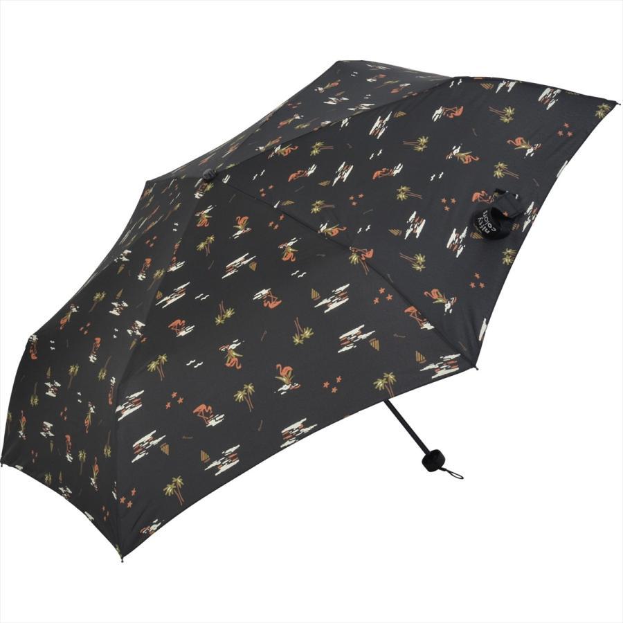 【公式】 ニフティカラーズ 傘  フラミンゴ ユニセックス 吸水ケース付 晴雨兼用 大きめ 60cm 折りたたみ ギフト UV 折傘 紫外線防止|niftycolors|02